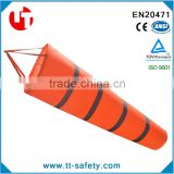 30' 40' 60' High Visibility Orange Grey White Windsock Outdoor Wind Sock Bag with Reflective Belt