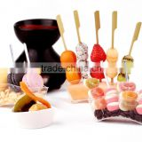 15cm with handle and skin bamboo skewer,bamboo knotted skewers,bamboo wooden skewers,bamboo skewers and toothpicks