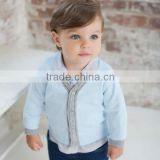 dave bella 2013 spring autum new arrival 100% cotton baby boy tops knitted outwear baby cardigan DB299                                                                         Quality Choice