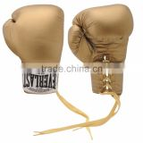Display Autograph Only Boxing Gloves Gold Gym Fitness
