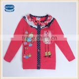 (F5406D) 2-6y Latest design nova garments beautiful ready stock kids girls coats for winter wholesale