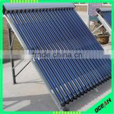 high quality copper heat pipe low price pressurized solar manifold collector, Sunny Water