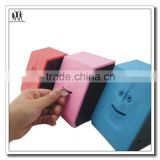 smile face plaatic money box, promotion gifts smile face plaatic money box,custom design plastic money box