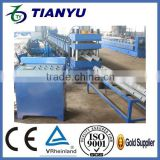 galvanized alibaba express hot dipped galvanized steel w-beam highway guardrail roll forming machine