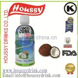 high quality houssy premium 320ml full pulp coconut water
