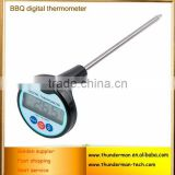 For BBQ,Coffee and Milk with Temperature Function Big LCD Portable Digital Food Thermometer