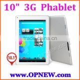 3G Phone Call 10 inch Dual sim Android Tablet PC Phablet mtk6582 cpu with Android 4.4 KitKAT WIFI Bluetooth FM GPS 2G/32G