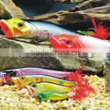 High quality hard Body Plastic Fishing Lures of metabo popper bm65/80/88/110/128/130/150