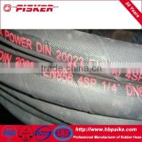 High Pressure Steel Wire Spiraled Rotary Drilling Hydraulic Hose En856 4sp Used In Oilfield