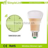 Energy saving E27 plastic dimmer incandescent light bulb