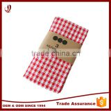 Bright Color 3 Pieces Cotton Tea Towel Set Kitchen Towel Set                                                                         Quality Choice