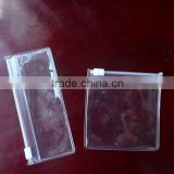 Customized Phthalate Free Clear Plastic PVC Zipper Pouch                                                                         Quality Choice