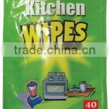 dinning room antibacterial wipes, kitchen mighty cleaning dots multifunctional wet wipes