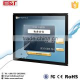 17 inch USB IR multi touch screen panel/touch screen frame with USB port