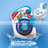 1pcs Blue-Touch brand Solid toilet bowl cleaner Blue Block detergent Cleaner with fragrance