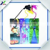 wholesale 3D lenticular bookmark in PET/PP plastic