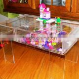 Children's Lego Puzzle Activity Craft Lucite Acrylic Tray Table