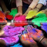 Starch color powder Made with Natural Herbs concrete color pigments Easy wash Skin harmless popular color run powder