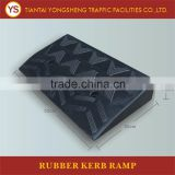 Portable Traffic Safety Floor Rubber Car Curb Ramp