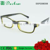Easy design hot sale high quality CP injection fake acetate sport optical eyeglasses frames