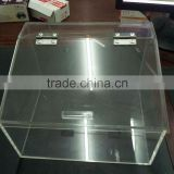 Supermaket bulk food acrylic candy bin box display stand