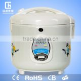 Deluxe stainless steel notic-stick inner pot low price 1.5L CE ROHS CB GS national electric rice cooker