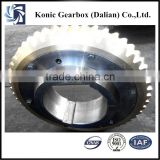 High speed large type customized nonstardard helical worm gear for gearbox motor parts from China manufacturer