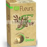 "Organic ""Detox"" Tea Fleurs . Private Label Available. Made in EU."