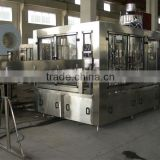 Monobloc 3-in-1 glass bottled tea hot filling production line