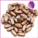 wholesale all type of rectangle wood beads for jewerly making