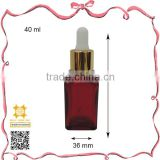 250ml message body oil high quality amber dropper bottle