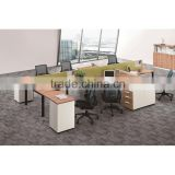 office furniture office modular workstations desk for 6 person
