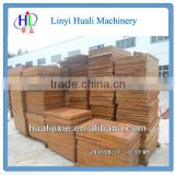 Bamboo pallet for concrete block production