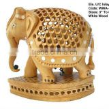 elephant sculptures/antique wooden animal/make wooden animals