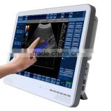 Portable Color Doppler Ultrasound System/ ultrasound machine with touch screen