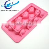 Food Grade TPR animal ice cube tray