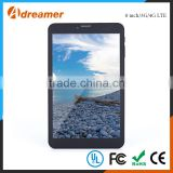Android 5.1 os 8 inch capacitive screen 4g tablet pc with camera for sale