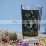 500 ml high quality pint glass with customized logo printing