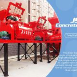 Twin shaft automatic electric mini JS500 Concrete Mixer
