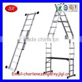 OEM&ODM customized Aluminium Fixed Ladders Assembly ,Triple Extension Ladder Aluminium