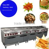 Automatic double basket snack deep fryer Hot Sale Best Price Barbecue Hot Lava Stone Grill