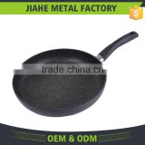 SGS Certificate Chinese Suppiler Non-Stick Marble Stone Frying Pan