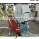 SWP Series crusher plant plastic crusher SWP-400 pipe | tube crushing machine