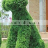 different shapes artificial grass animal for garden&home decoration