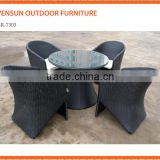 Outdoor Furniture General Use and Garden Set Specific Use rattan outdoor round table set