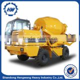 High Efficiency Self Loading Concrete Mixer Truck used in Cement Mixing