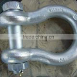 Cheap price iron stainless steel Bow shackle