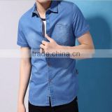washed mens casual jeans dress shirt,casual clothes 2015 summer trend tshirt,jeans men shirt