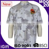BSCI/ISO9001 Factory Dry fit Breathable fabric Italy sublimation Ink Hotsale cheap custom fishing team shirts