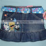 7-16 girls denim skirts#9M5431-42
